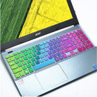 Stock colorful design Custom factory silicone laptop keyboard cover for Acer