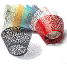 12Pcs Baking Arts Hollow Cup Cake Wrapper Cups Muffin Paper Cup Cake Cups